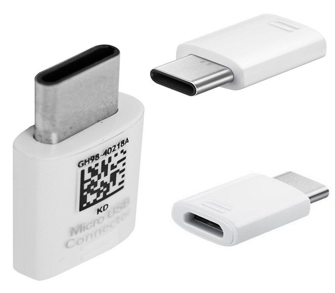 ADAPTOR (MICRO USB TO TYPE C) SAMSUNG OEM BLACK